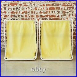 1960s Mid Century Pool Patio Sling Beautiful Set of Lounge Modern Atomic Chairs