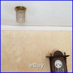 690b 60s Vintage Ceiling Light Lamp Fixture atomic mid-century eames pair