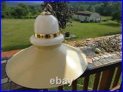ATOMIC SWAG LIGHT 1960s 70's Vtg SPUTNIK Retro MID CENTURY CEILING Hanging Lamp