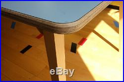 Atomic I Retro Mid Century Inspired Dining Table I Handmade Ply Formica 6 seater