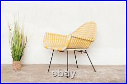 Atomic Sputnik Satellite Chair Vintage Retro 50's 60's Yellow Delivery Option