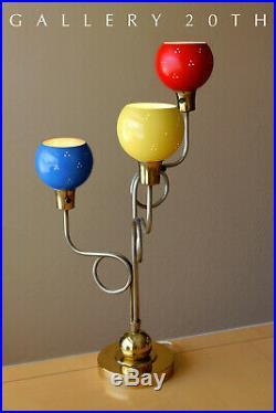 Bravo! MID Century Modern Laurel Lamp! 50s Triennale Sarfatti Ponti Atomic Vtg