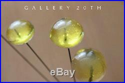 Cool! MID Century Modern Lucite Sculpture! 60's Abstract Art Vtg Atomic Kinetic