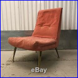 E Gomme G Plan Cocktail Chair Atomic Legs Pink Blush Delivery Available