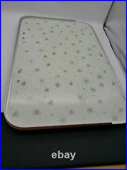 Guardian Mid Century Atomic Star TV Tray Folding Tilting Bed Retro, VGC