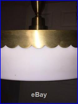 Huge 30 Vintage Lighting MID Century Modern Atomic Ceiling Light Fixture
