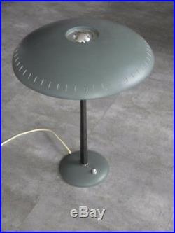 Lamp Kalff Philips desk mid century vintage design 60s retro light ufo atomic