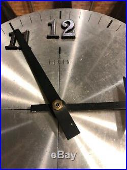 Large 25 Vintage Mid Century Modern Elgin Atomic Starburst Wall Clock