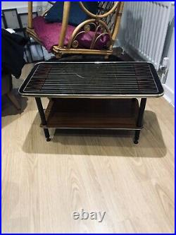 MID Century Coffee Table Eames Conran Era Black Atomic Design 1960s Retro