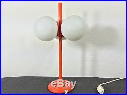 Mid Century 60s KAISER Space Age Tulip Globe Table Lamp Staff Era Raak Atomic