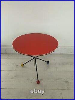 Mid Century Atomic Side Table
