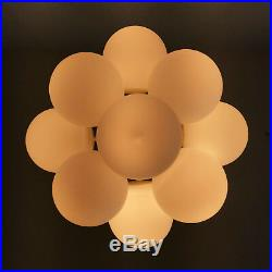 Mid Century MAX BILL TEMDE Cluster MULTI-DISCS Atomic CHANDELIER Pendant Lamp