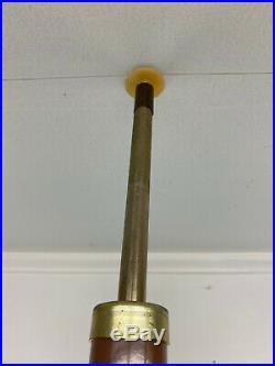 Mid Century Modern Atomic 3 Light Tension Pole Lamp Floor Retro