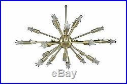 Mid Century Modern Atomic Sputnik chandelier
