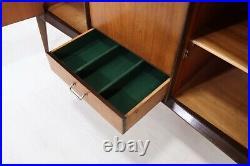 Mid Century Rare Everest Walnut & Afromosia Sideboard 1950s Atomic Vintage Retro