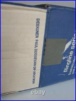 Mid Century Ringline 1100 Lamp Shade Paul Boissevain Atomic Vintage Eames Panton