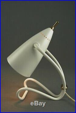 Mid Century Table Lamp Atomic Kalmar Stilnovo Vintage Italy 1950s 60s 70s RARE