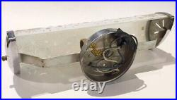 Mid century MCM bathroom vanity wall sconce frosted ATOMIC STARBURST light