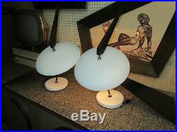 Mid century modern Atomic Vintage Space Age Lamps