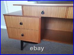 Mid century teak dressing table vintage retro atomic sideboard