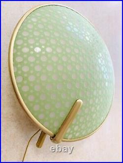 Pair Erco Mid Century Wall Sconce Mint Light lamp bakelit 50s Atomic 60s vintage