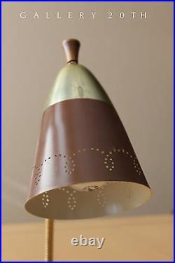 Rare! MID Century Modern Lightolier Lamp! 50's 60's Atomic Vtg Gooseneck Retro