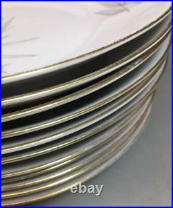 Rosenthal Atomic Leaf Leaves Mid Century Modern 40 pc Dinnerware Plates/Bowls