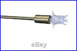 Sputnik Atomic Lamp Mid Century Light Chandelier Brushed Brass 50's Modern Eames