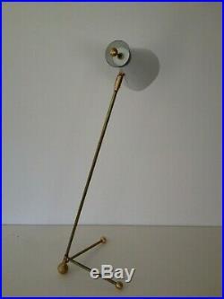 TALL Unique TABLE LAMP Mid-Century ARTELUCE Eames STILNOVO Deco ATOMIC 50s 60s