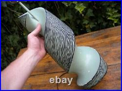 Vintage MID Century Modern Atomic Table Lamp By Balc 1950's Plaster Mint Green