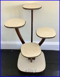 Vintage Mid Century 1950s Atomic Plant Stand