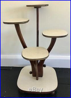 Vintage Mid Century 1950s Atomic Plant Stand
