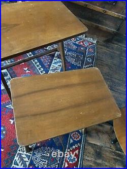 Vintage Mid Century Atomic Bengt Ruda Nest of Tables Swedish Danish