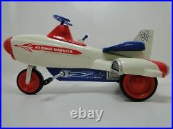 Vintage Mid Century Atomic Modern 1940s 1950s Jet Age Space Craft Rocket Ship