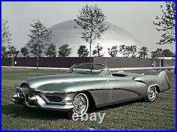 Vintage Mid Century Atomic Modern 1950s 1960s Jet Space Age Concept Car Art Deco