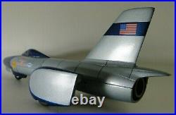 Vintage Mid Century Atomic Modern 1960 Jet Space Age Concept Race Car Art Deco
