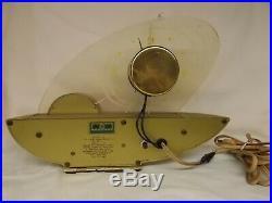 Vintage SCHAEFER BEER Mid Century Modern Atomic LIGHTED Clock Sailboat
