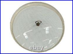 Vintage Thurston Mid Century Wall PULL DOWN LIGHT Atomic Hanging Lamp